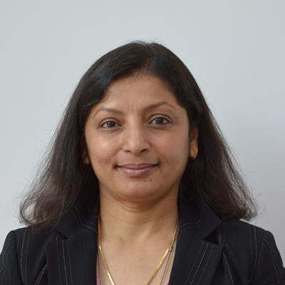 Mrs Hina Gandhi