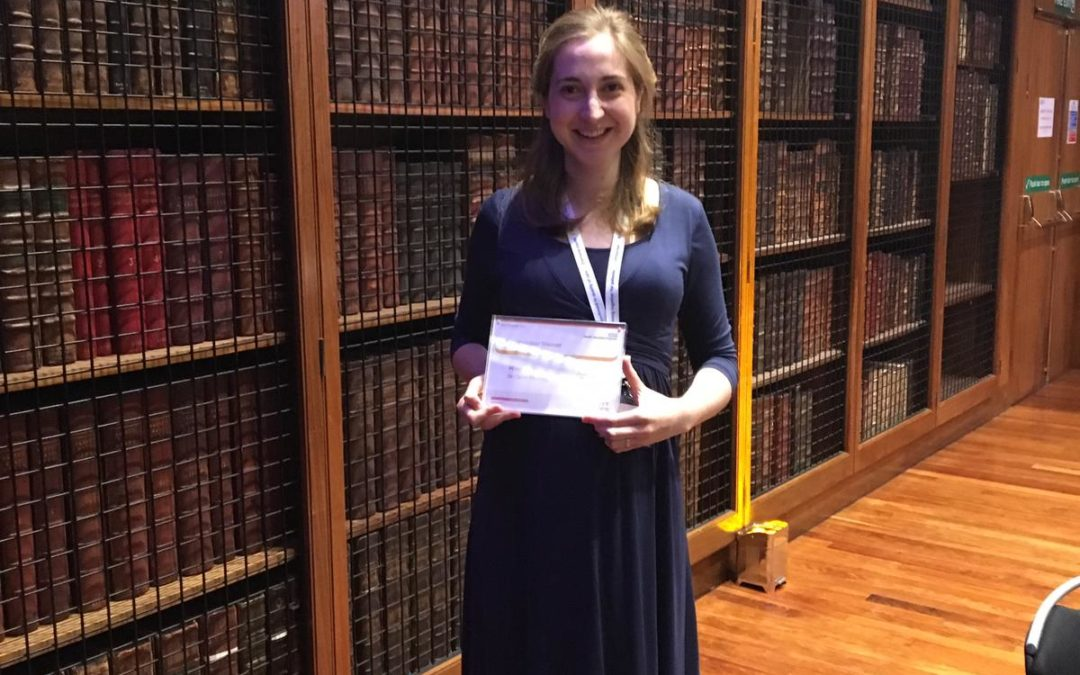 Dr Carys Fleming-Core Medical Trainee, wins Inspirational Trainee of the Year Award